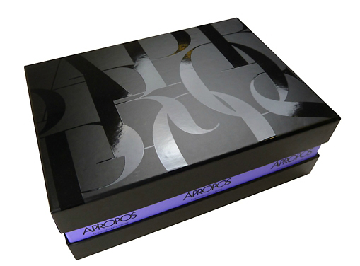 rigid boxes with uv spot varnish