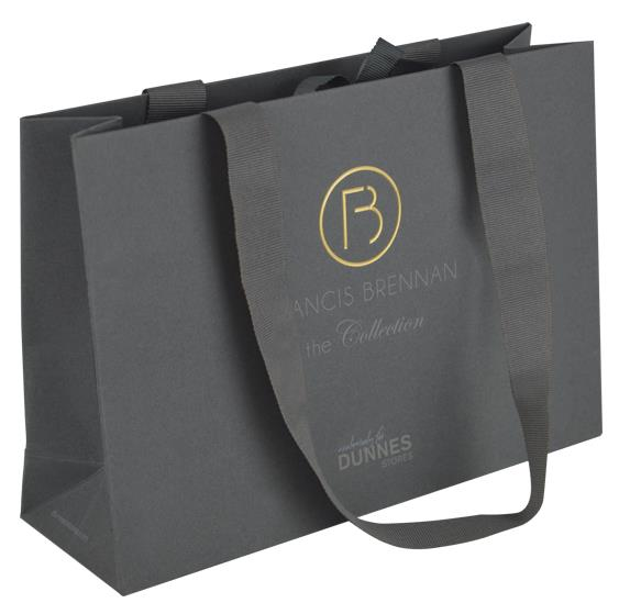Luxury shopping bags