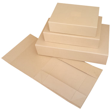 kraft foldable boxes