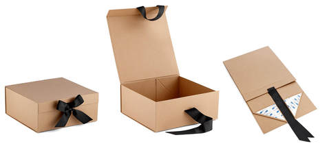 foldable kraft gift boxes