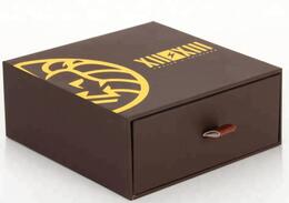 drawer boxes with hot stamping logo